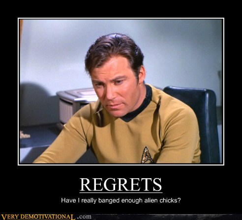 demotivational posters - REGRETS