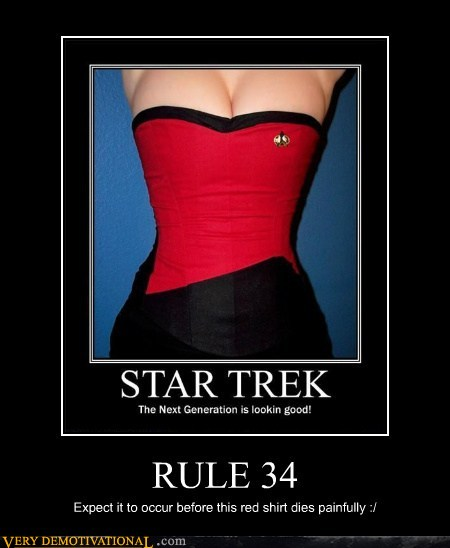 demotivational posters - RULE 34