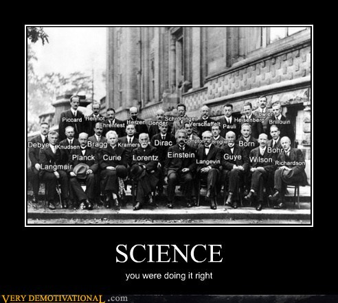 demotivational posters - SCIENCE