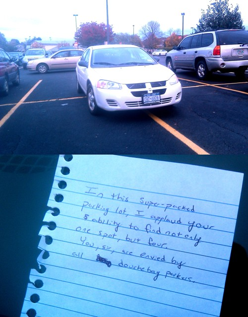 epic fail  - FAIL Nation: Douchebag Parker, Meet Douchebag Note Writer