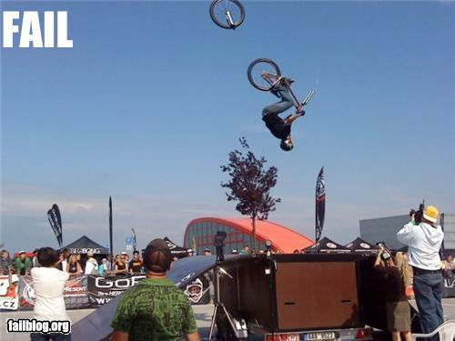epic fail photos - Mid-Air BMX FAIL