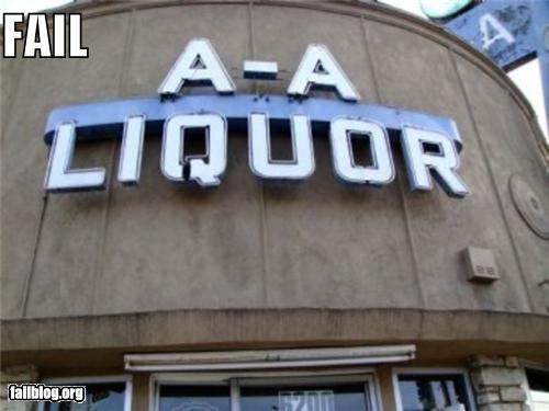 epic fail photos - Liquor Store Name FAIL