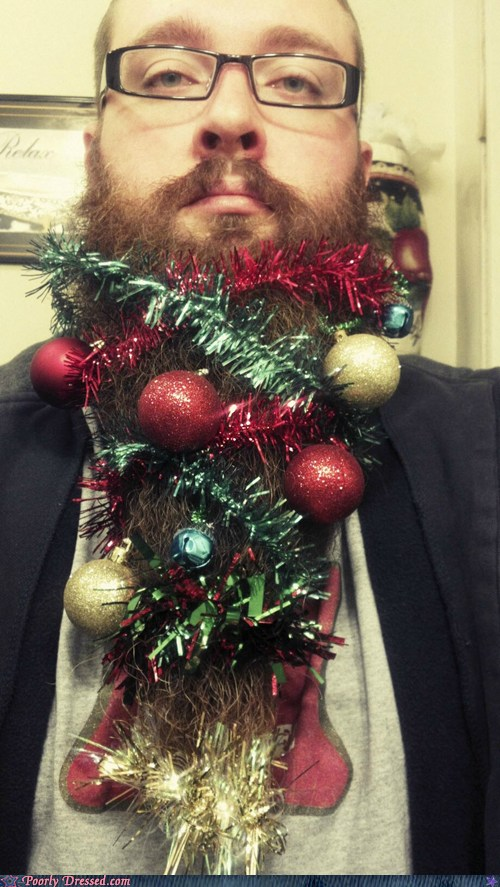epic fail photos - Poorly Dressed: I always suspected Father Christmas was a hipster