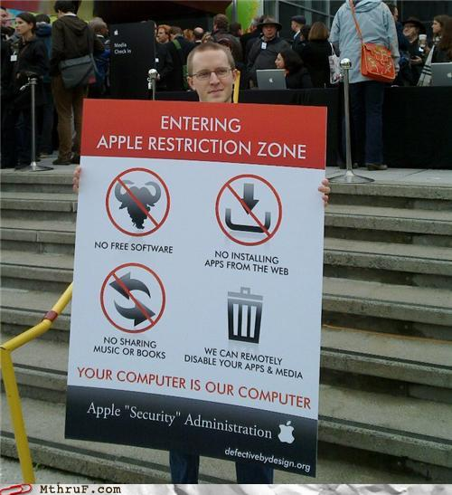job fails - Nerdiest Protester Ever