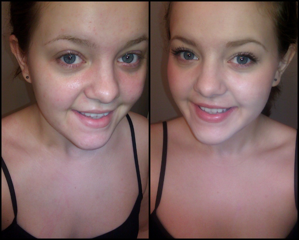 The subtle change of natural makeup: my before and after