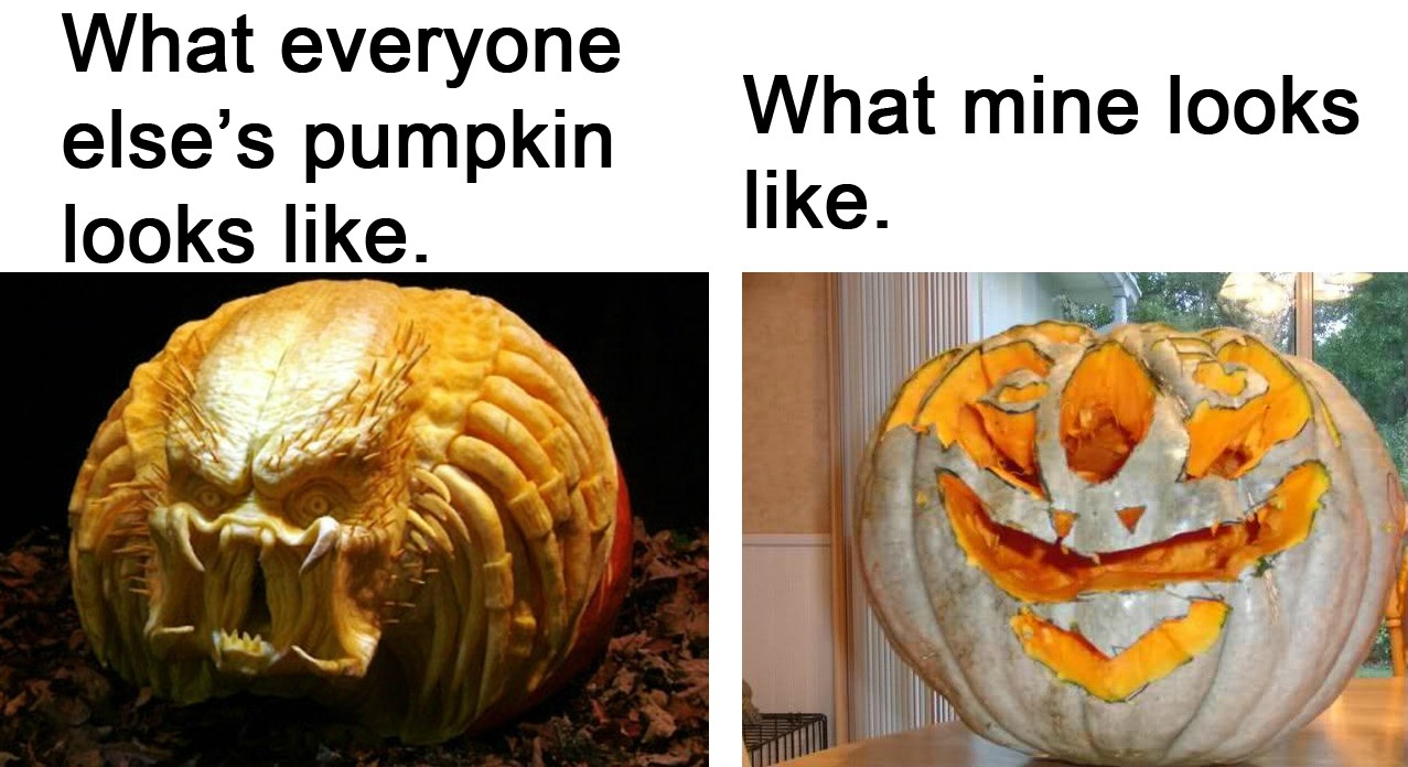 Why I hate carving pumpkins. | Funny Pictures, Quotes, Pics, Photos ...