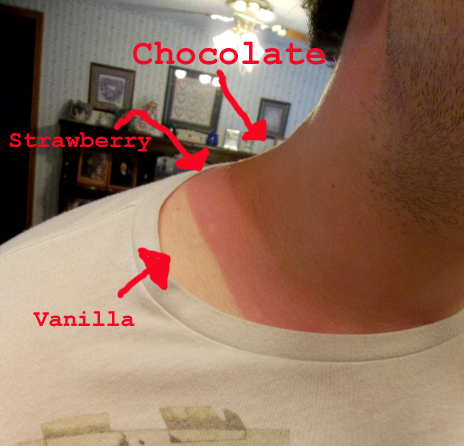 Just started walking 4 miles a day. Now I'm Neapolitan ice cream.