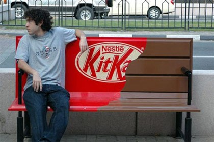 Awesome bench design ad