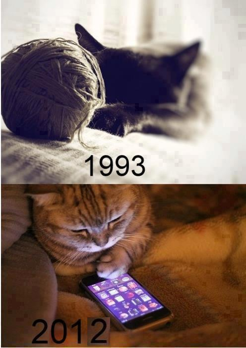 Times have changed