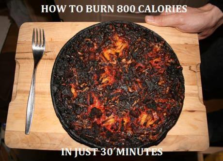 How to burn calories..