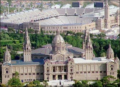 olympic stadium Barcelona 1992-2
