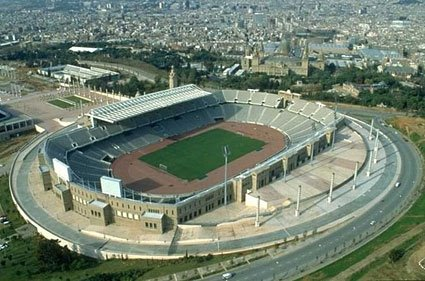 olympic stadium Barcelona 1992