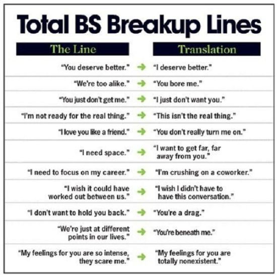 funny break up quotes