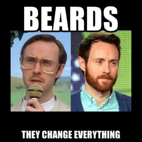 Funny Ugly Guy Meme : Put a beard on it funny pictures quotes pics photos