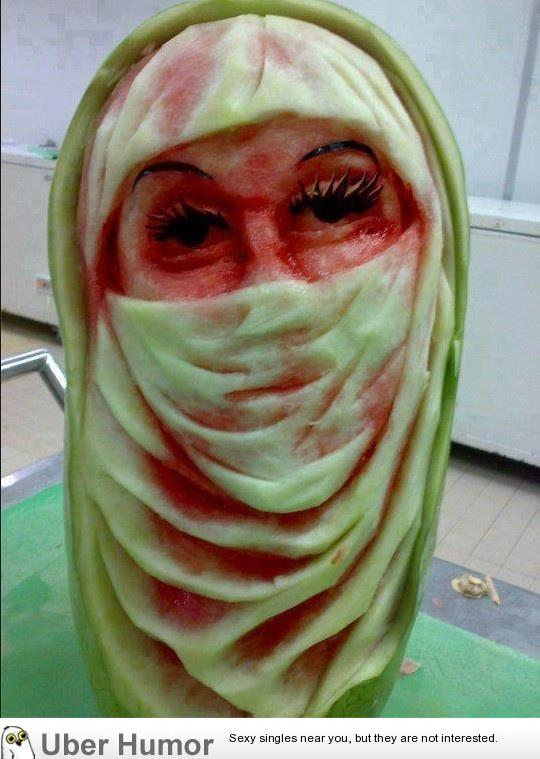 Watermelon art funny pictures quotes pics photos images