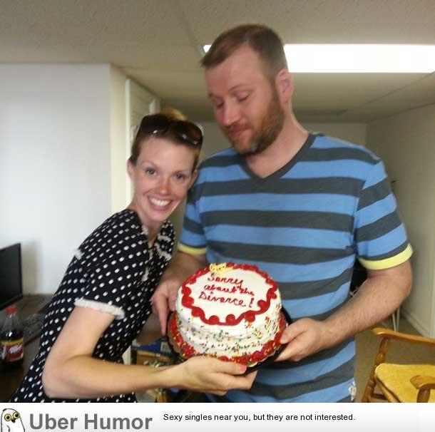 My Soon To Be Ex Wife Brought Me A Cake For My Birthday Today