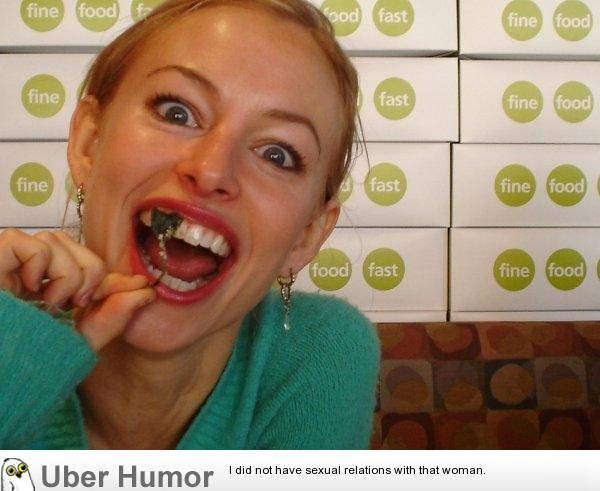 funny pictures's stuck in your teeth out: