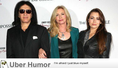 funny pictures' Gene Simmons.