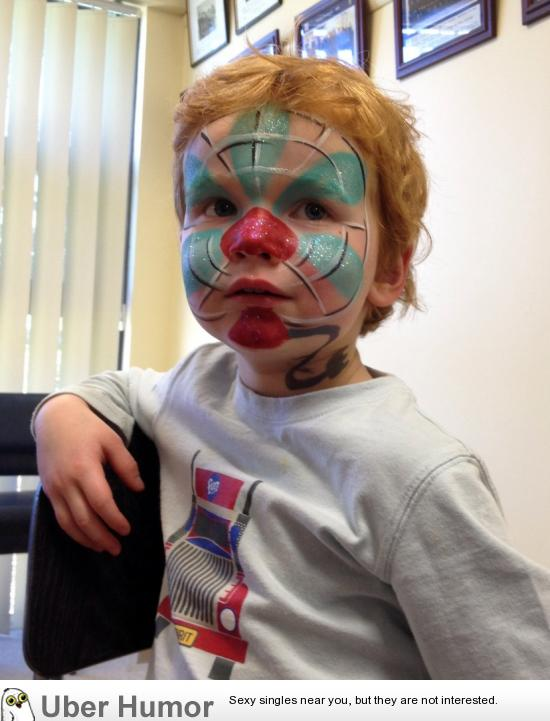 My son didn't want to be a SuperHero, or even a Traffic Light… he wanted to be a Desk Fan!