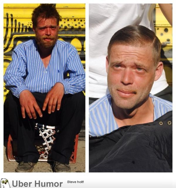Barber spends his Sundays giving free haircuts to the homeless.
