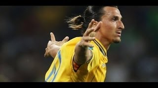 Swedish superstar Zlatan Ibrahimovic's Top 10 Goals. The last five are outrageous.