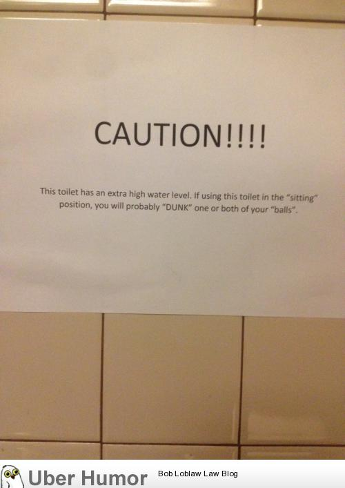 Sign In Mens Bathroom Stall