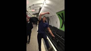 London Underground Tongue Click Ping Pong Battle