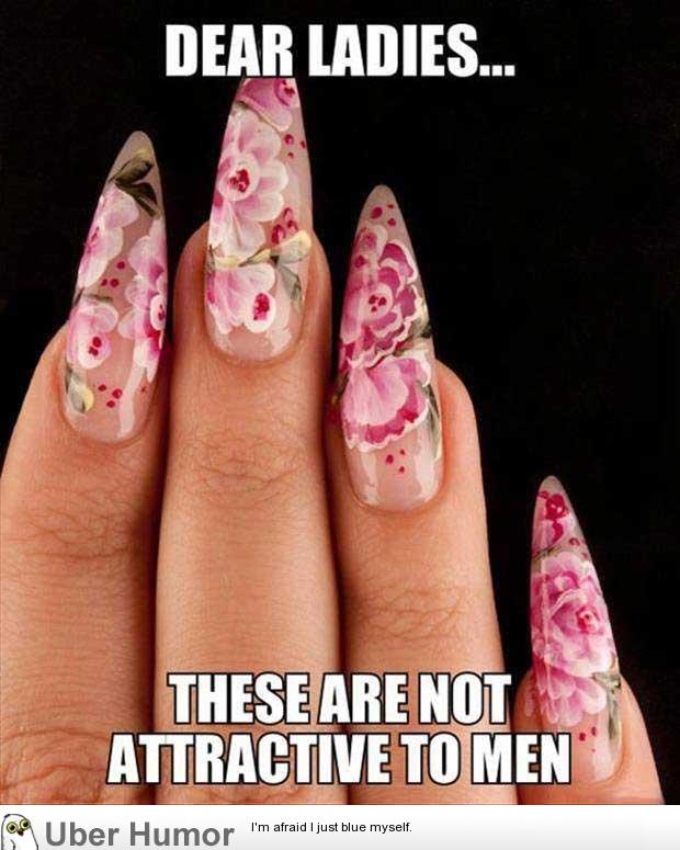 Image result for 9gag boys dont like fake nails
