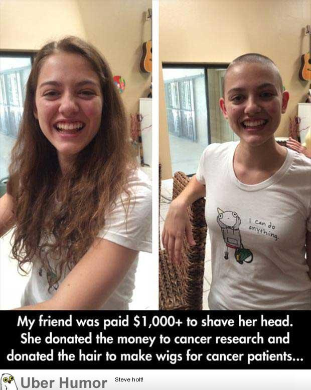 Stupendous She Shaved Her Head Funny Pictures Quotes Pics Photos Images Hairstyles For Women Draintrainus
