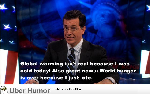 Stephen Colbert S Thoughts On Climate Change Funny Pictures