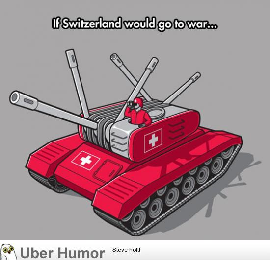 If Switzerland would ever go to war…