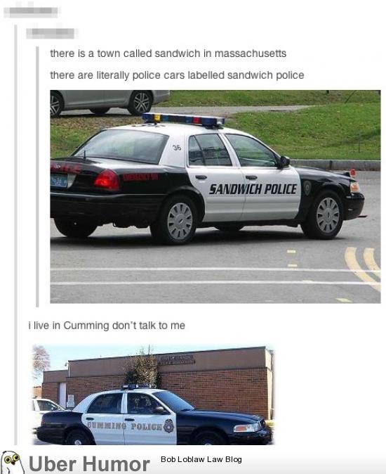 The sandwich police