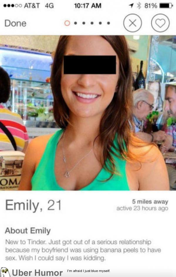Tinder sex profile