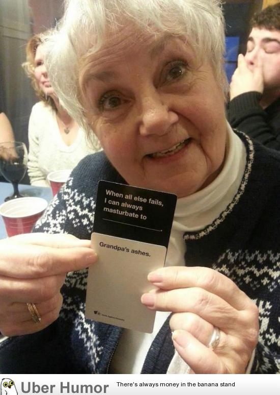 Well Then… I think we can all agree grandma wins this round