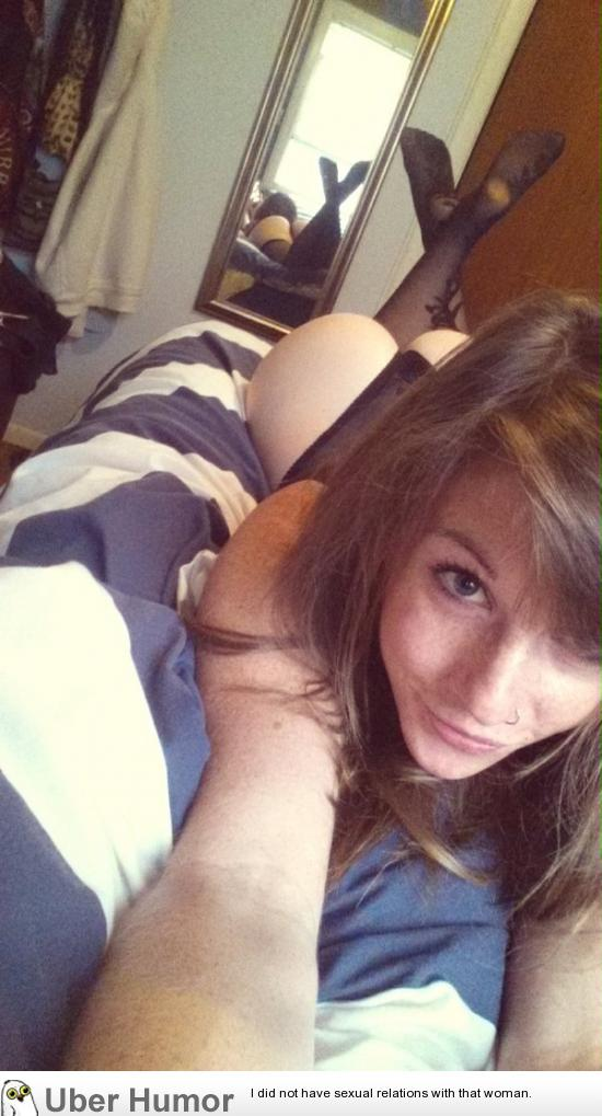 self shot Cute teen girl