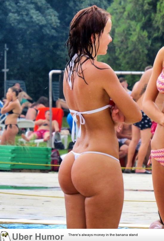 Good fat cellulite bikini butts was