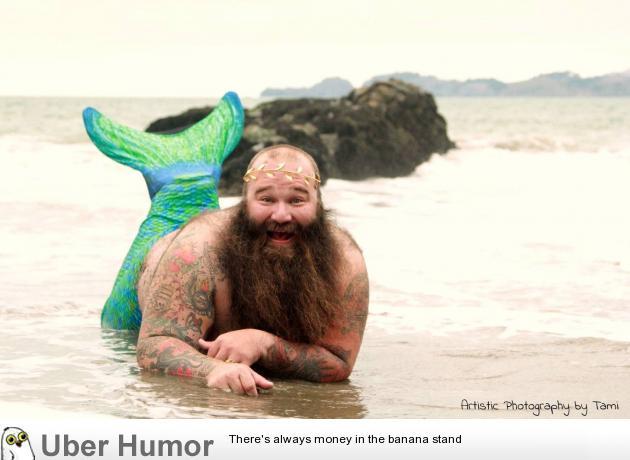 Bearded Little Mermaid