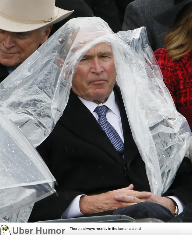 George W Bush At The Trump Inauguration Funny Pictures Quotes