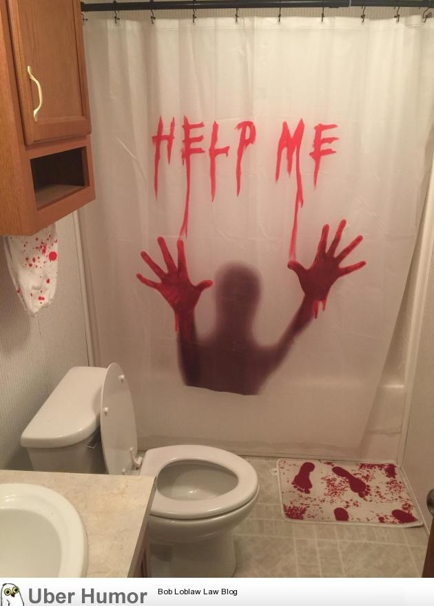 My wife said i could decorate the guest bathroom as my own for Decorate your own bathroom