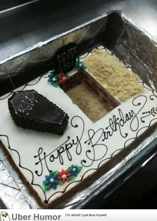This Morbid Birthday Cake Funny Pictures Quotes Pics Photos