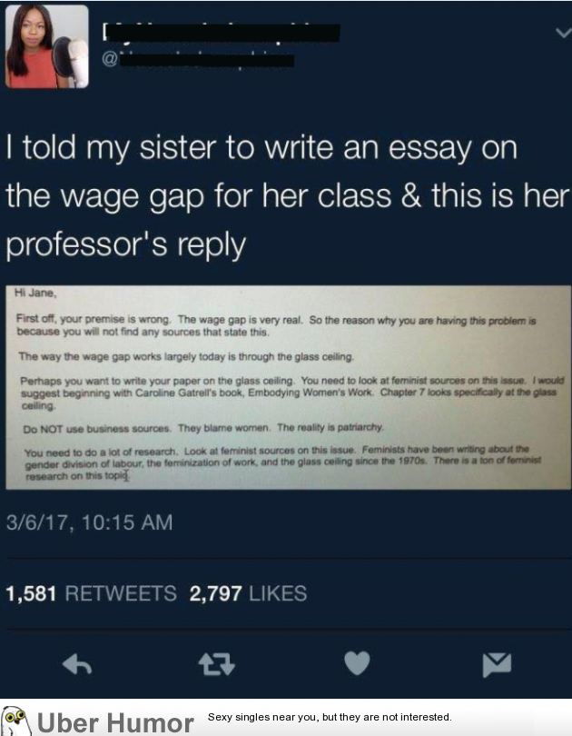 Thesis Statement For Education Essay Funny Pictures Analytical Essay Thesis Example also How To Write A Proposal Essay Cringe Worthy Professor Is Triggered Their Student Wrote An Essay  High School Memories Essay