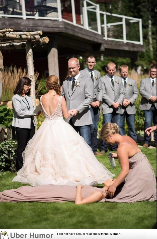 So I Fainted In The Middle Of My Best Friends Wedding