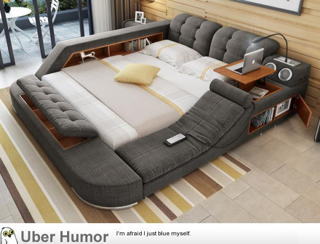 If I could have one thing in life, it'd be this bed.