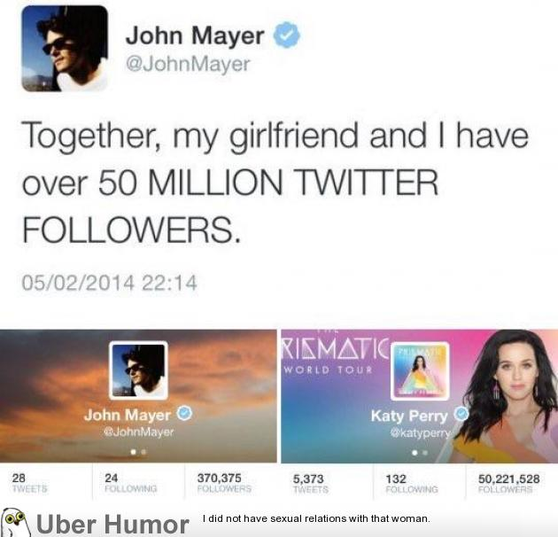 John Mayer and Katie Perry | Funny Pictures, Quotes, Pics ...