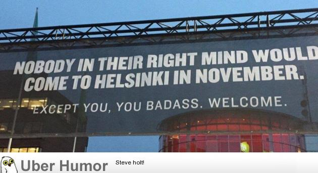 8QCgF8U a sign outside an airport in helsinki, finland funny pictures,Funny Airport Quotes