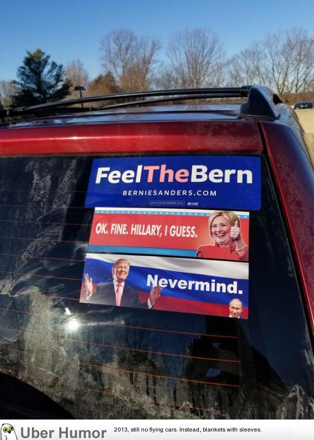 The Progression Of These Bumper Stickers Funny Pictures Quotes