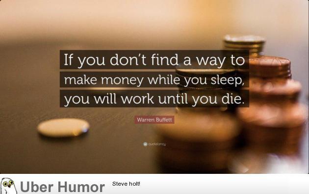 Interesting Warren Buffet quote | uberHumor.com