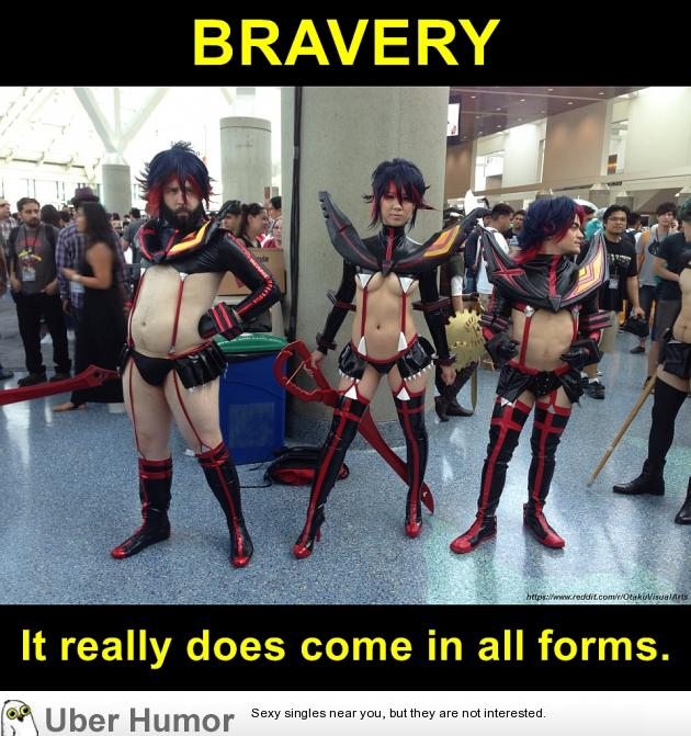 Bravery In Cosplay Funny Pictures Quotes Pics Photos Images