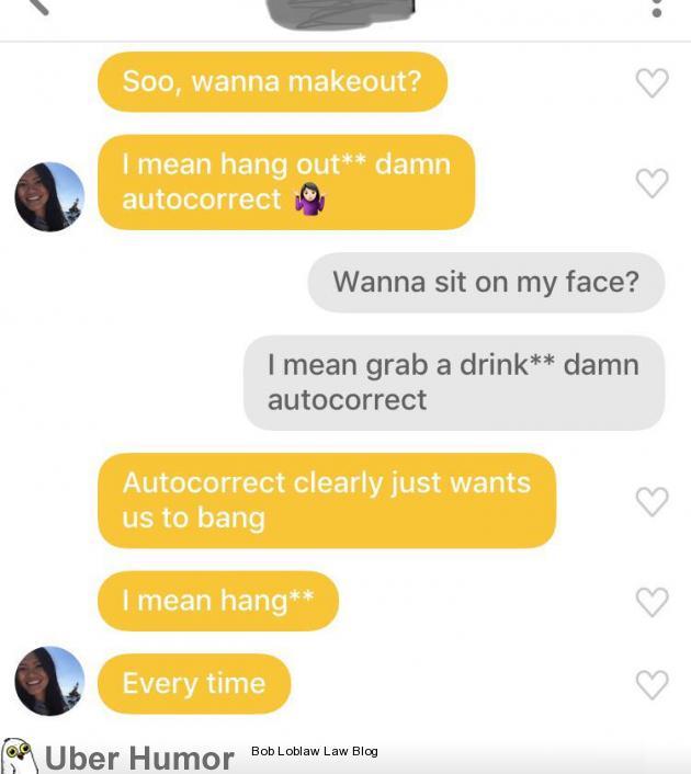 What the duck? Damn autocorrect. | uberHumor.com