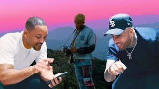 Will Smith responds to Icon by Jaden Smith with remix to remind him who the icon is.